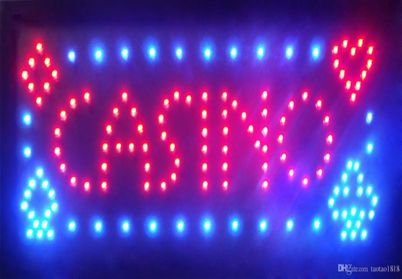 LED-Sign CASINO